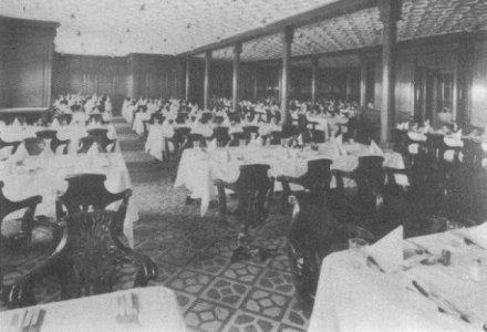 Second Class Dining Room Part 35
